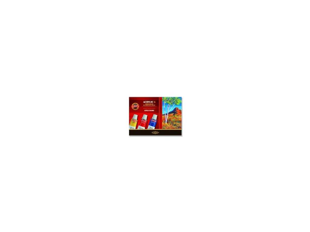 2919 sk farby akrylove 6 farieb x 14 ml php
