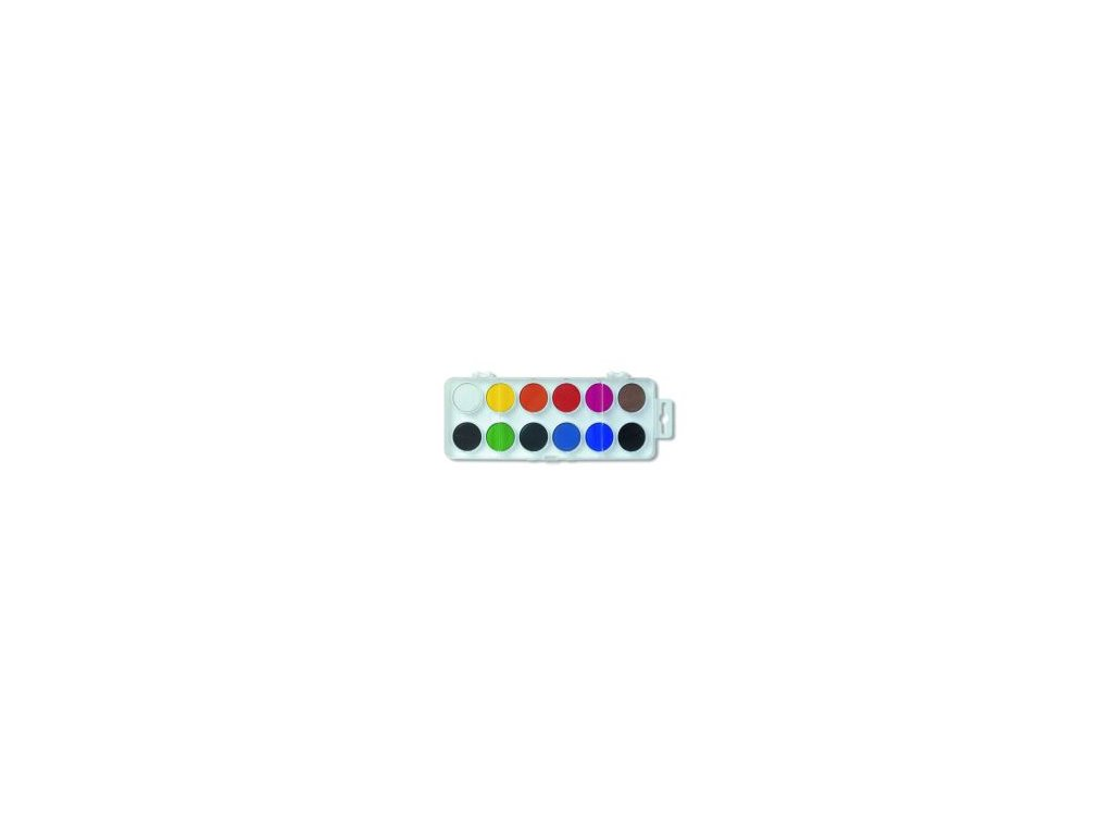 farby vodove koh i noor 22 5 mm sada 12 ks