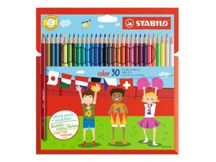 farebne ceruzky sest hranne stabilo 30 roznych farieb (1)