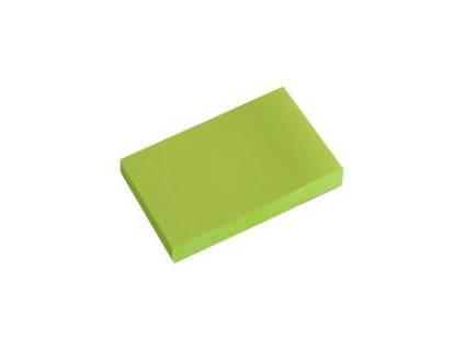 672 sk blok lep neon zeleny 51 x 76 mm php