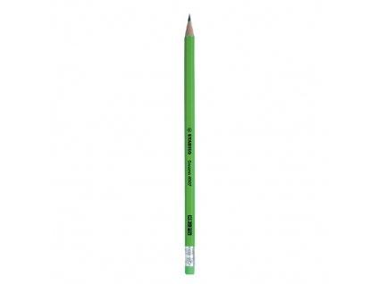 ceruzka stabilo swano fluo zelena