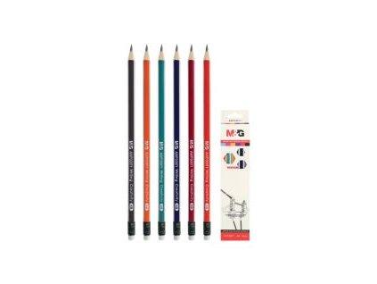 ceruzka grafitova trojhranna hb s gumou