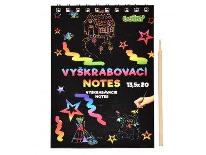 vyskrab.notes 135 20 cm 12 listov 6132