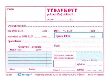 vydavkovy pokladnicny doklad 1022