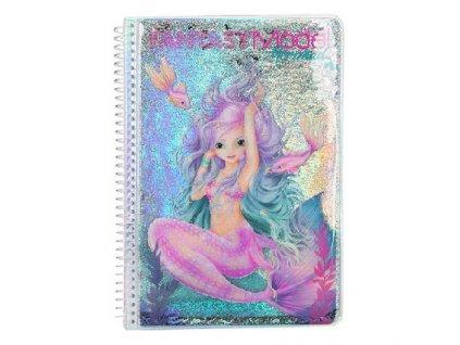 """Omaľovánka Fantasy Model """"Morská panna"""""""