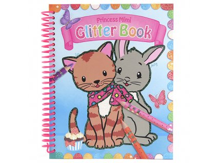 "Omaľovánka Princess Mimi ""Mačička a zajačik"""