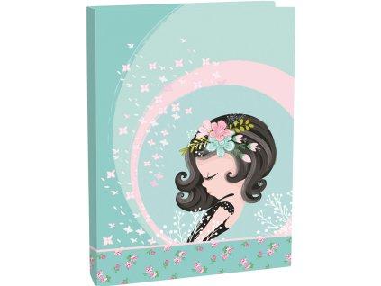 Box na zošity A4 Cute girl