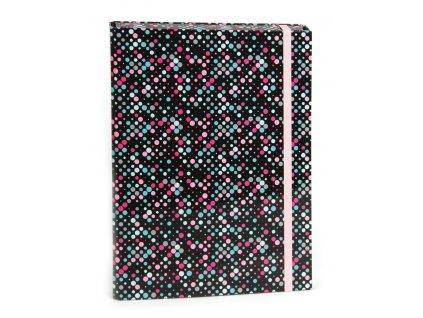 Box na zošity s klopou A5 Dots