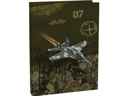 Box na zošity A5 Air force