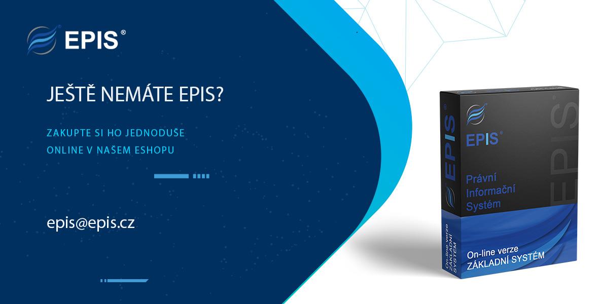 EPIS - Online nákup