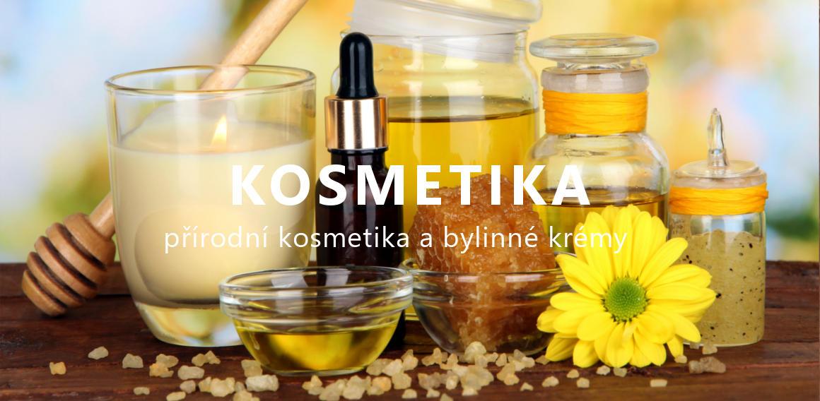 Přírodní kosmetika a bylinné krémy