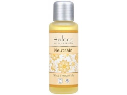 Neutrální -  tělový a masážní olej