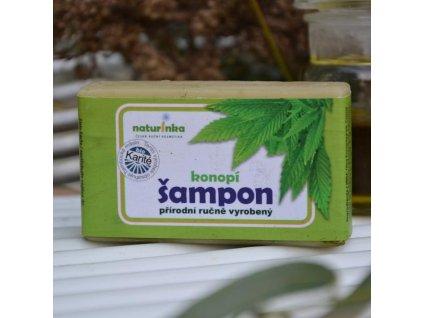 Konopný šampon