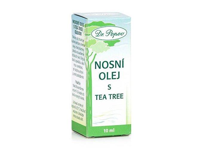 nosni olej tea tree