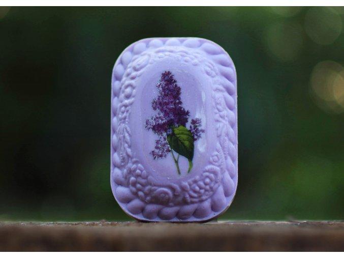 Mýdlo s avokadovým olejem (etiketa)