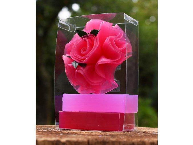 Mýdlo Růže – velká kazeta 2+1