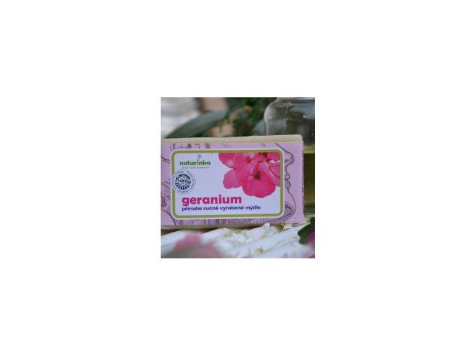 Geranium mýdlo
