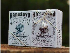 Hanušovo mýdlo dárkový balíček 2ks