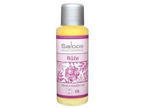 Růže - tělový a masážní olej