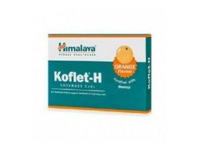 Himalaya Herbals Koflet H s medem s příchutí pomeranče