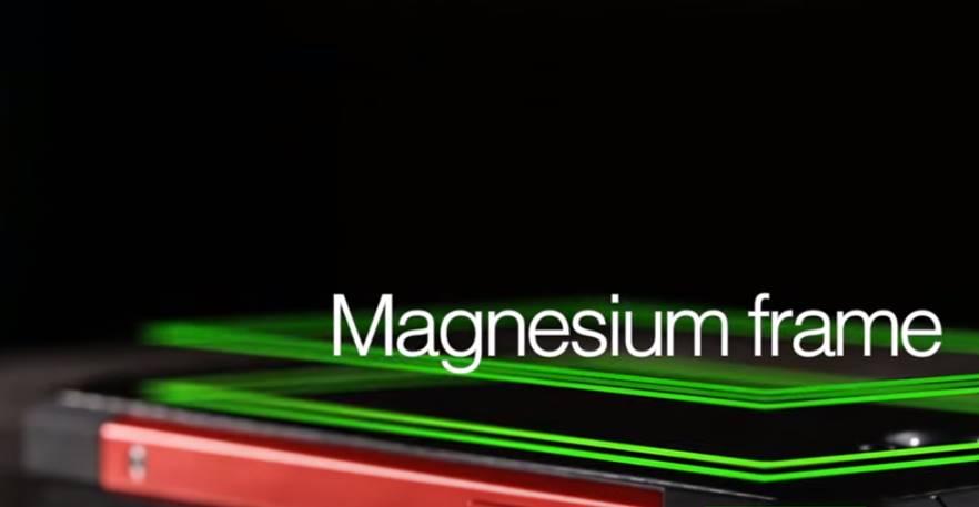 magnesium-frame