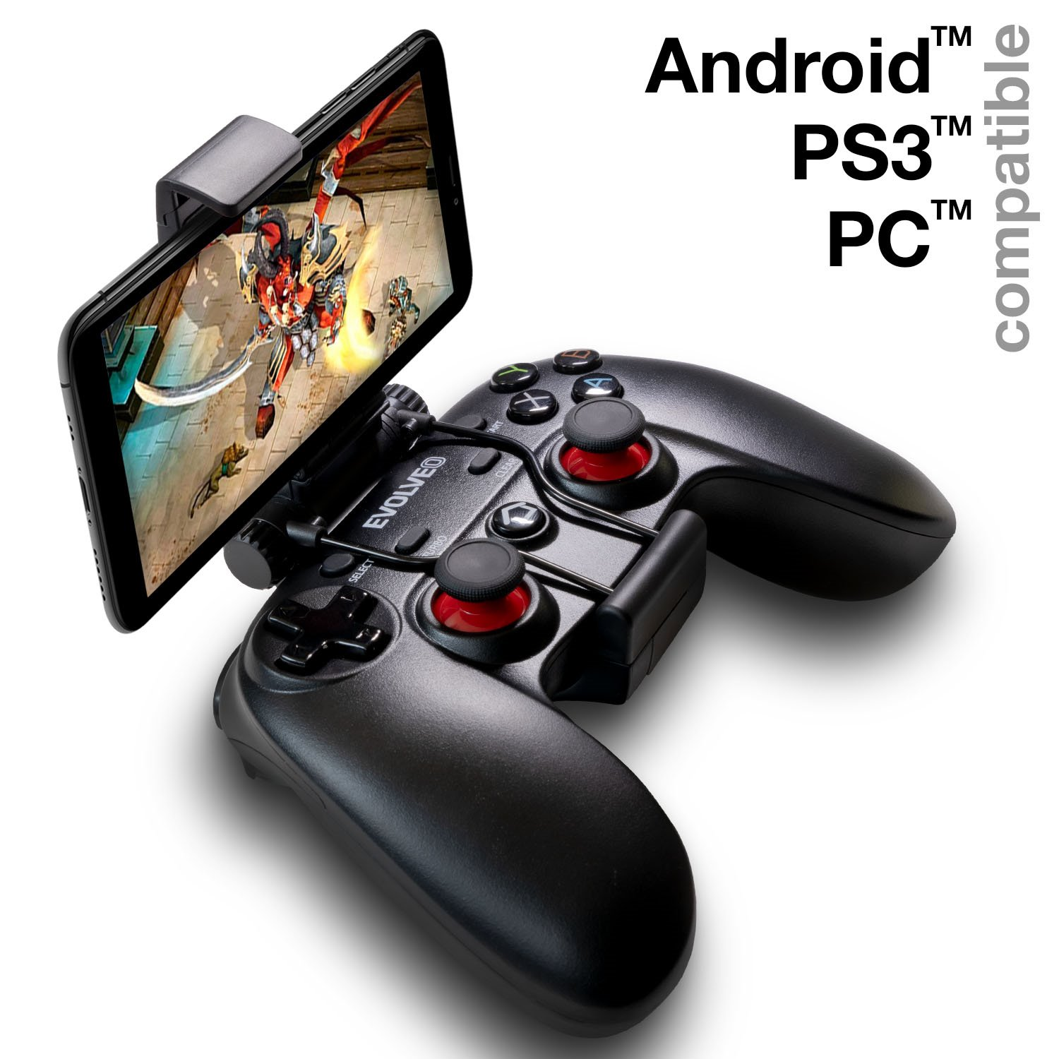 EVOLVEO Fighter F1, wireless gamepad for PC, PlayStation 3, Android box/smartphone