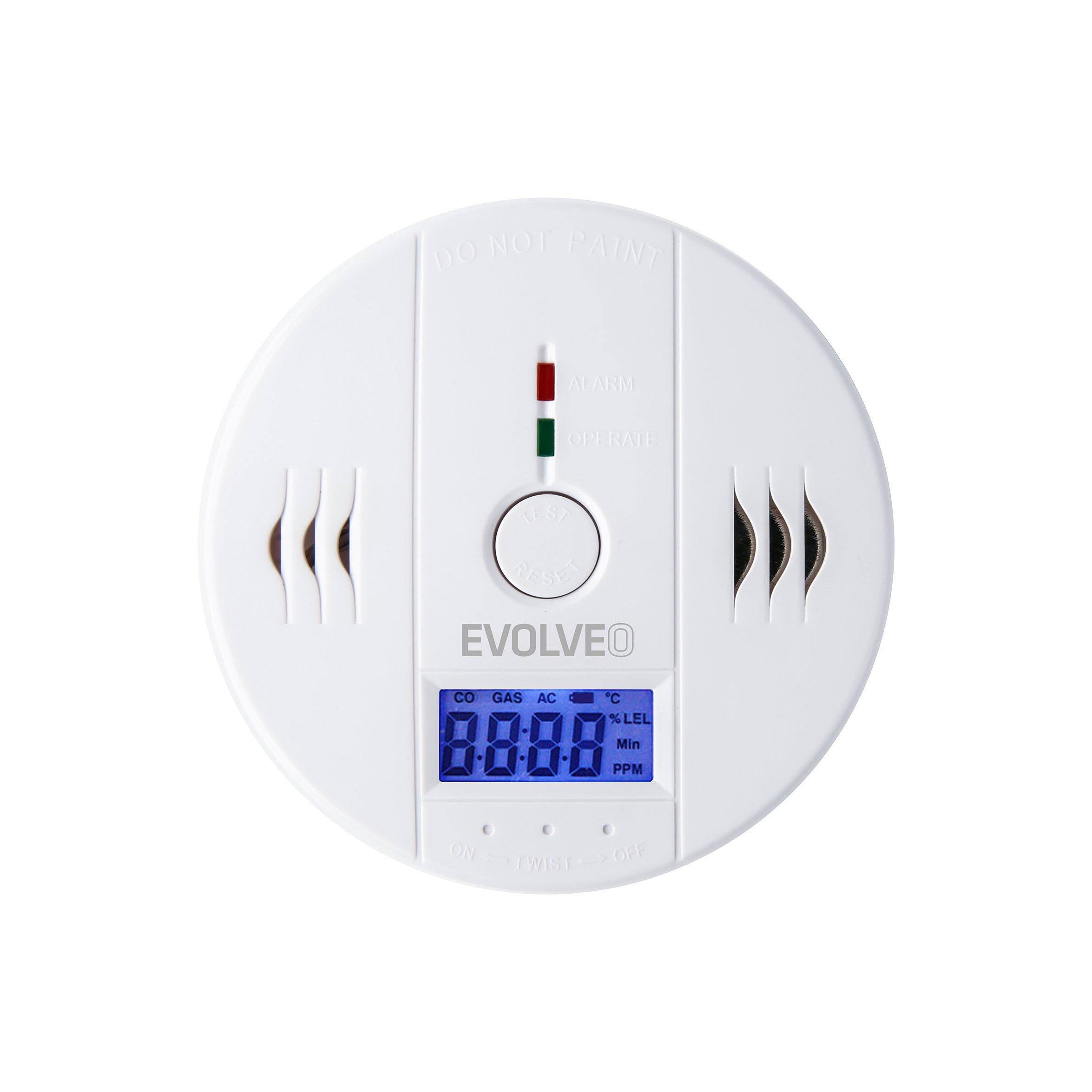 EVOLVEO Defender D5, carbon monoxide detector (CO)