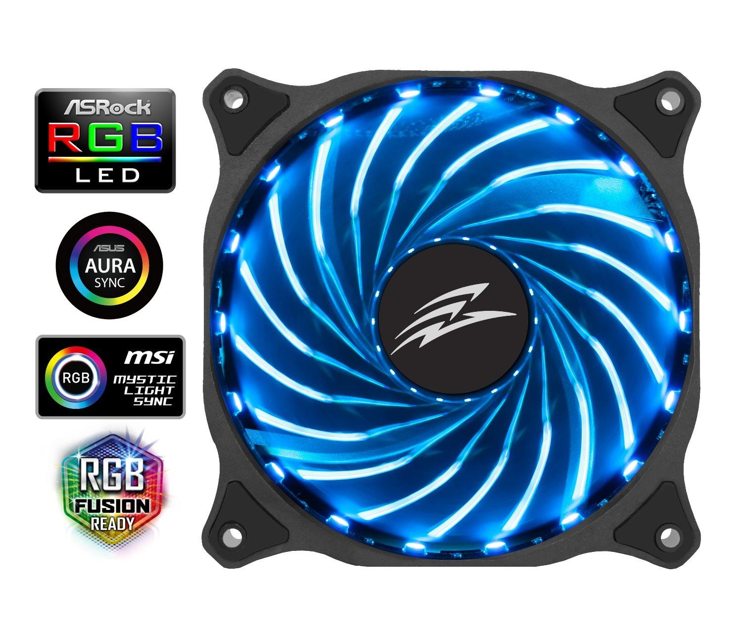 EVOLVEO rgb-fan-12r1