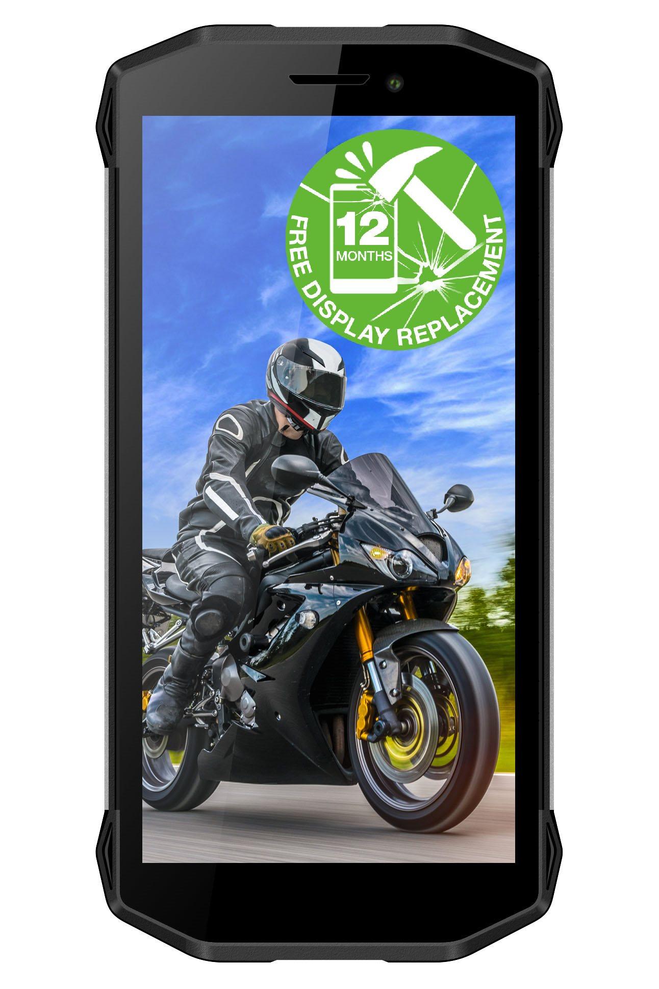 EVOLVEO StrongPhone G5, vodotěsný odolný telefon, rozšířená záruka na displej 12 měsíců