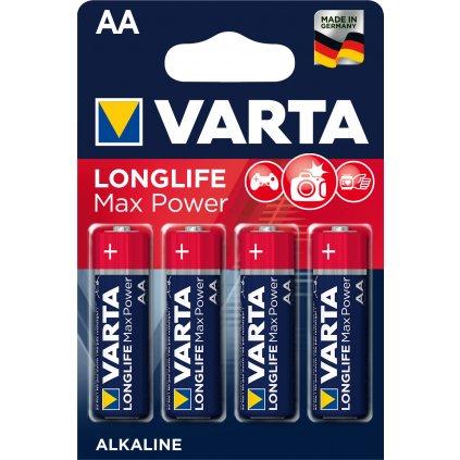 VARTA baterie Longlife Max Power AA - blistr 4ks