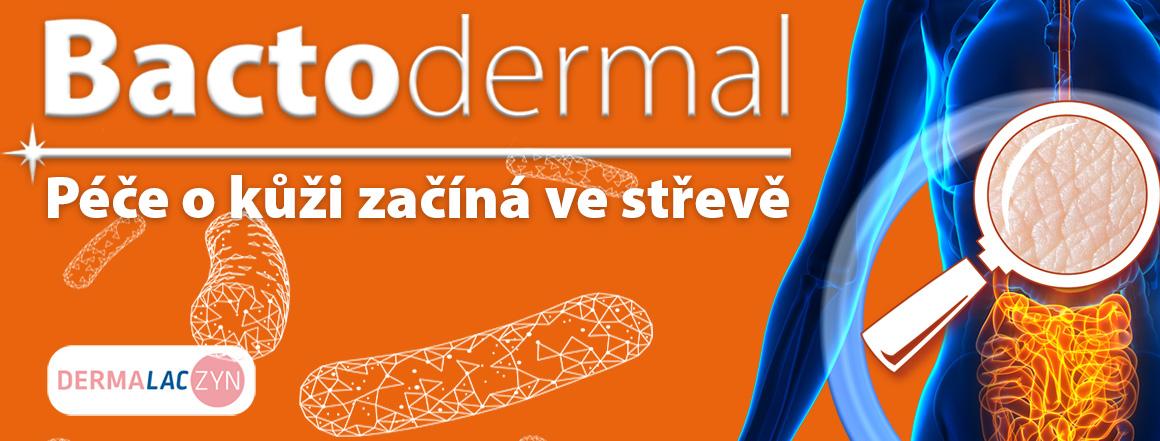 Bactodermal - péče o kůži začíná ve střevech