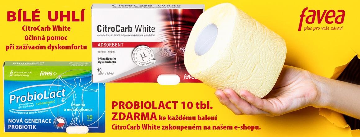 CitroCarb White - účinná pomoc při zažívacím dyskomfortu