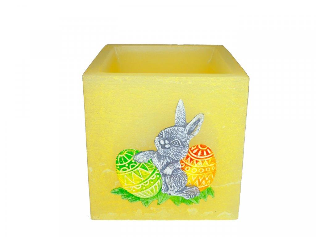 Svietnik kváder žltý - zajačik a vajíčka