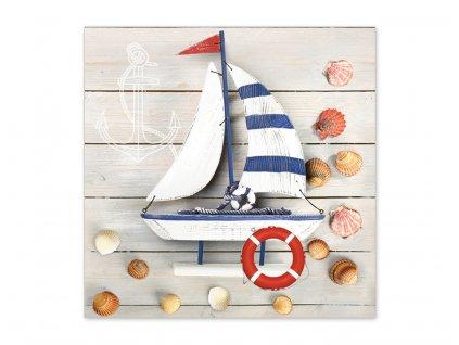 Servítky Drevená loďka