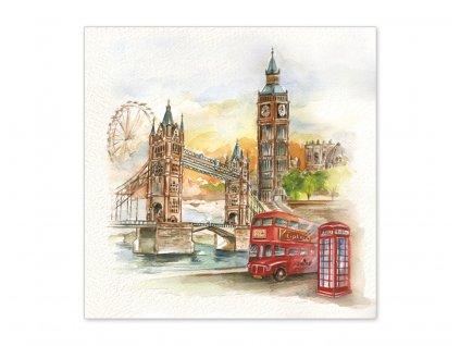 Servítky Londýn