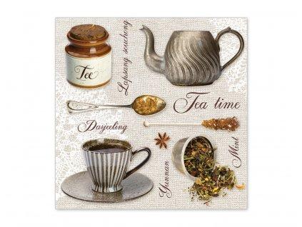 Servítky Čaj