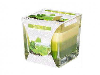 Sviečka aromatická trikolóra - green tea