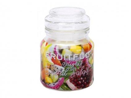 Sviečka aromatická s vrchnákom - fruitful