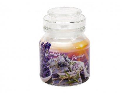 Sviečka aromatická s vrchnákom - lavender fields&soap