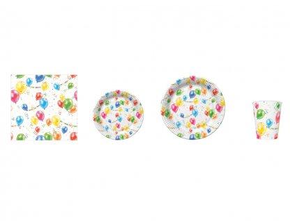 Párty set - balóny a girlandy