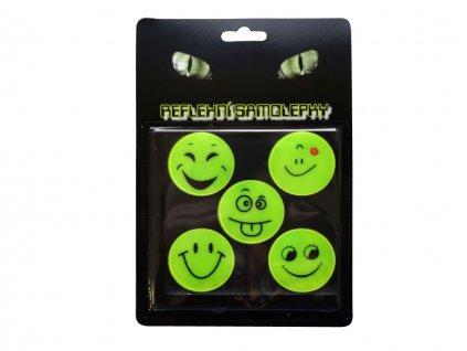 Reflexné samolepky úsmev