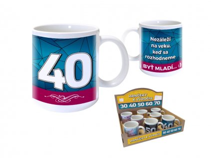 Hrnček pre MUŽA - 40