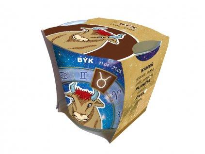 Darčeková sviečka - horoskopy - Býk - SN