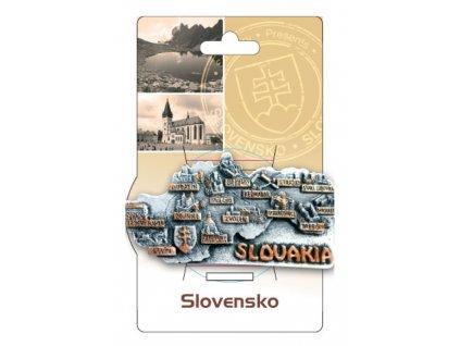 magnetka keramicka malovana slovensko