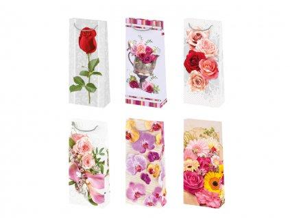 Darčeková taška Kvety - veľkosť  F7