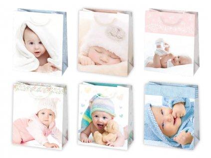 Darčeková taška k narodeniu dieťatka - veľkosť F4