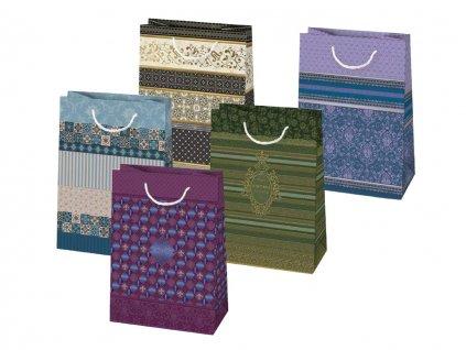 Darčekové tašky pre mužov, tašky pre pánov. Mix motívov, mix farieb.