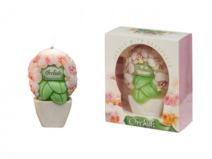 """Aromatická sviečka """" Orchid bouquet"""""""