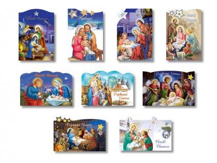 Vianočné pohľadnice - náboženské