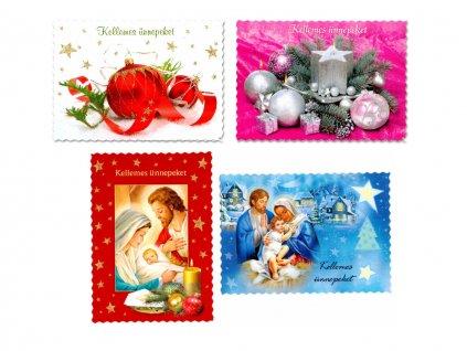Vianočné pohľadnice - maďarské